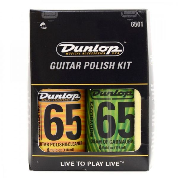 Jim Dunlop Guitar Polish Kit 6501 - Packed